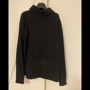 Lululemon tunic style cowl neck sweatshirt size 6